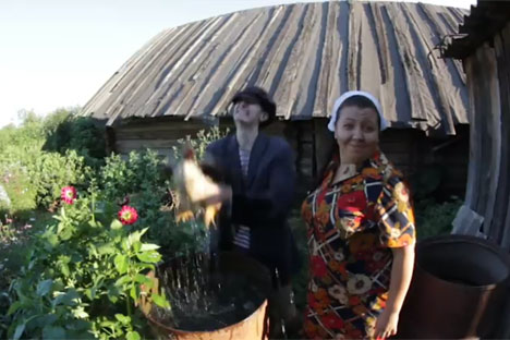 Parodi Hideaway Kiesza dari Kampung Rusia Makin Populer di YouTube
