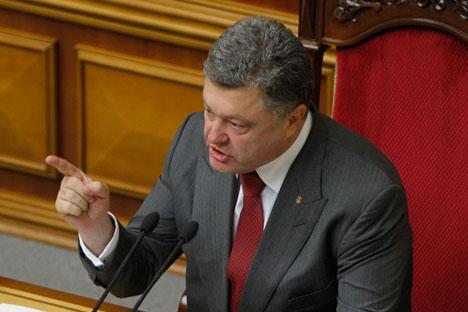 Poroshenko gives positive marks to local election outcome