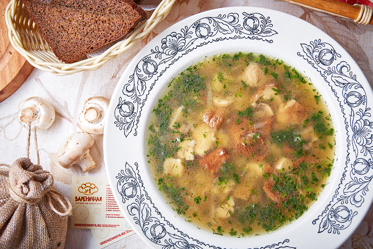 Traditional dishes that become completely Lenten