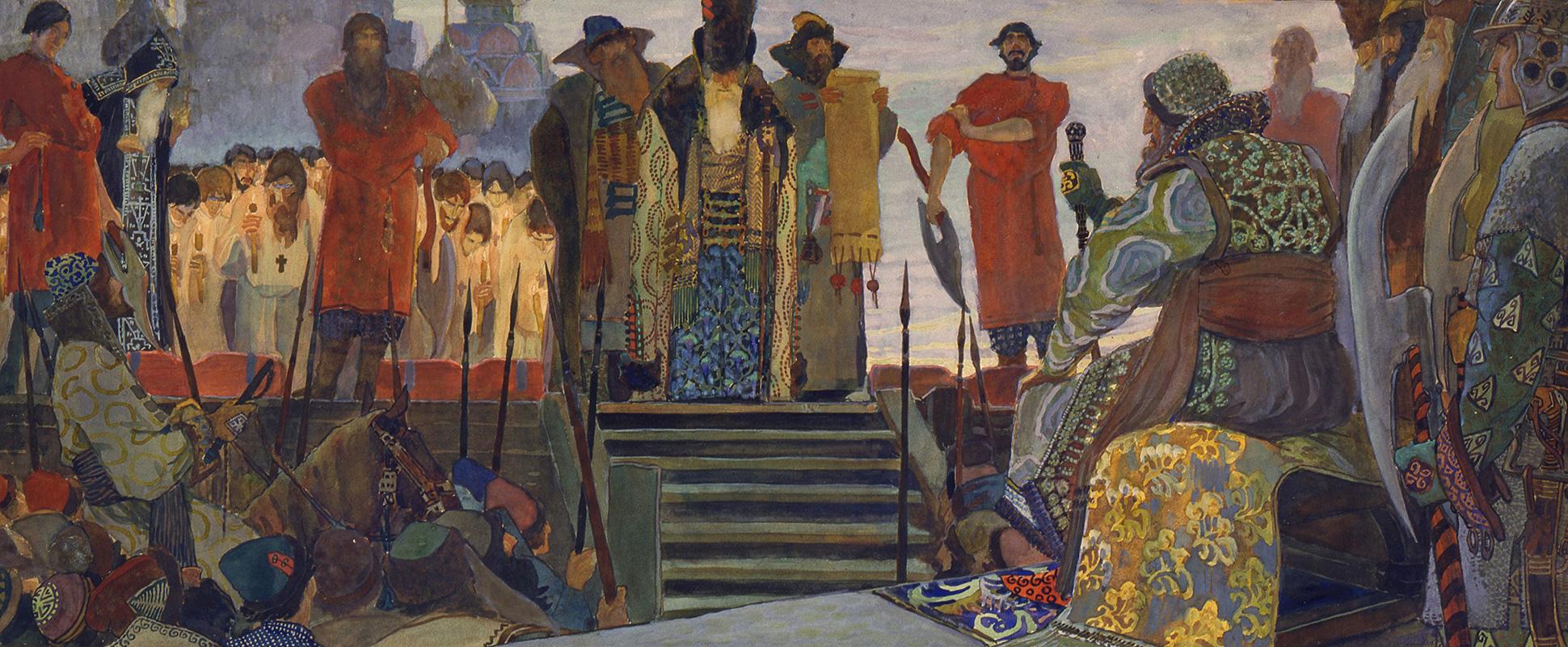 Usmrtitev bojarja med vladavino carja Ivana Groznega. Vasilij Vladimirov. 1906 / Legion Media