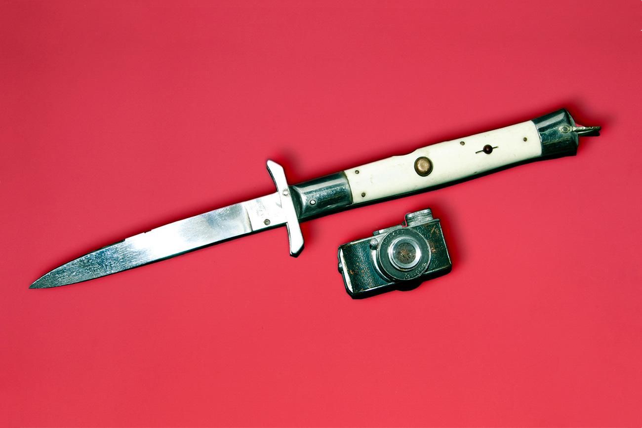 Mini kamera japonskega vohuna./ Ilja Ogarjov