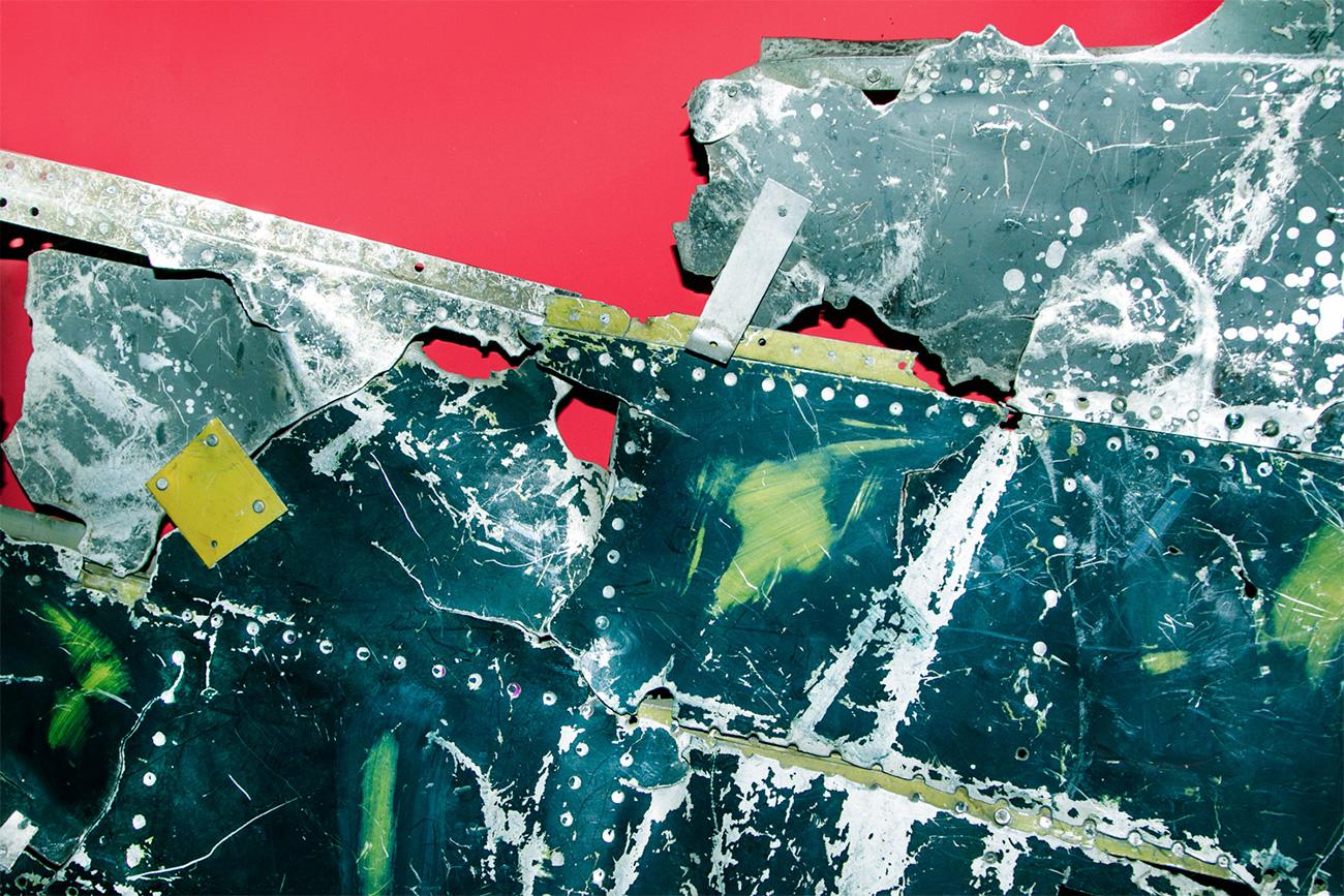 Fragment sestreljenega ameriškega vohunskega letala U-2. / Ilja Ogarjov