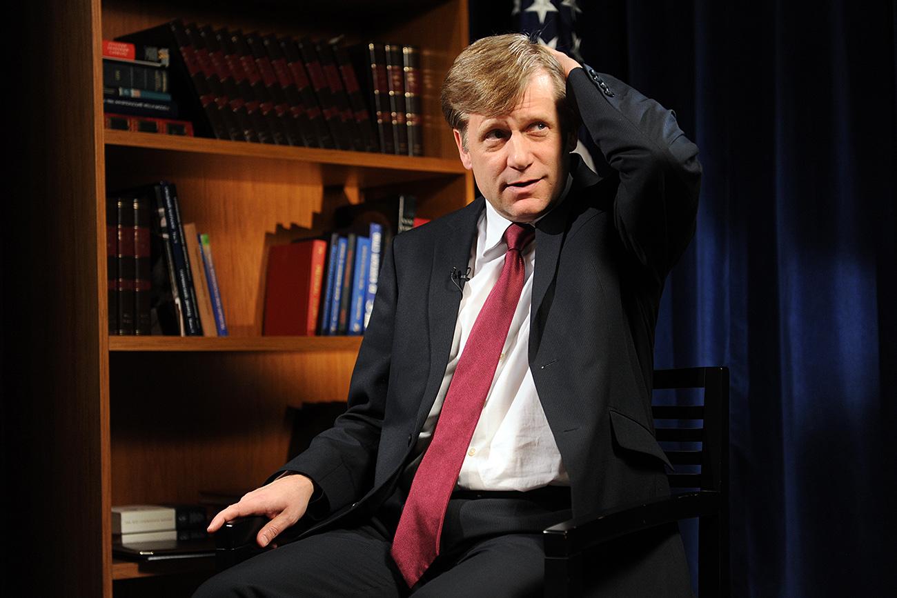 Bivši ameriški veleposlanik v Rusiji Michael McFaul. Vir: Aleksej Filipov / RIA Novosti