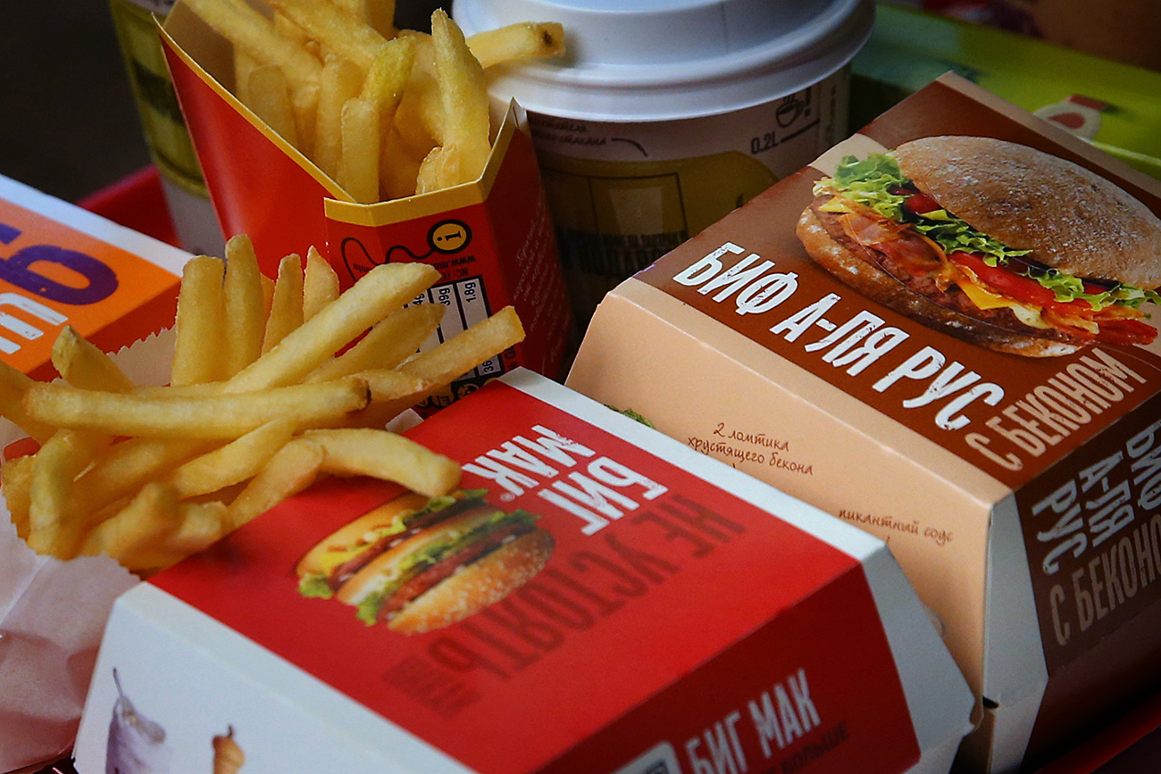 A rede fast-food planeja abrir mais 50 restaurantes na Rússia neste ano. (Foto: Valéri Sharifulin / TASS)
