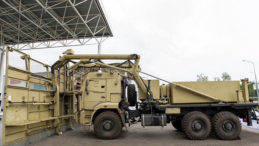 Novo veículo da Guarda Nacional foi desenvolvido pelo Consórcio Kalashnikov