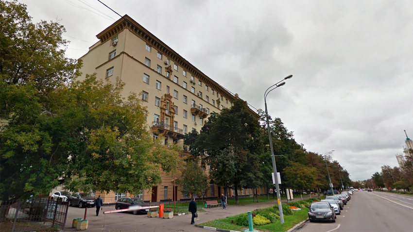 Il lungofiume Kosmodamianskaja