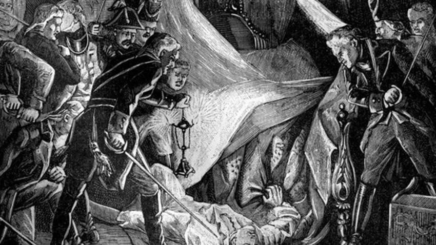 パーヴェル1世の暗殺、1801年3月