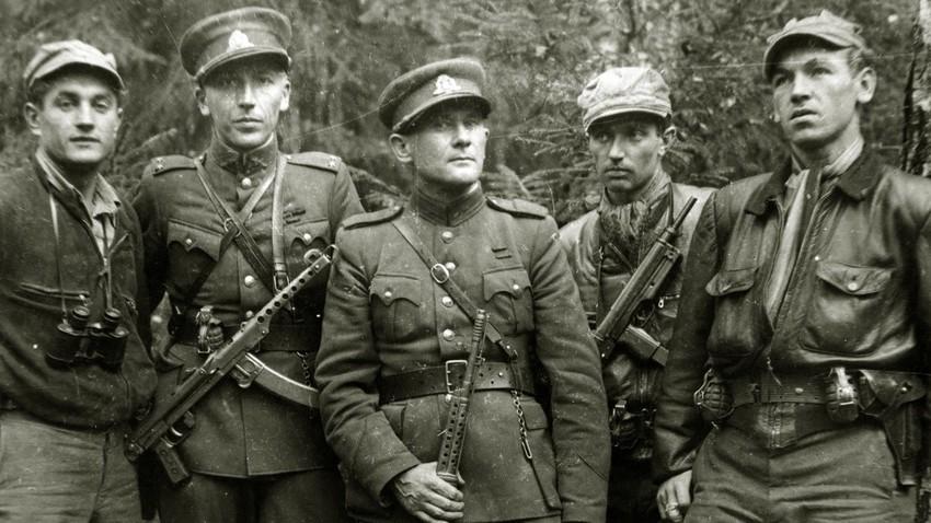 """""""Горските братя"""" в Литва през 1950-те г."""