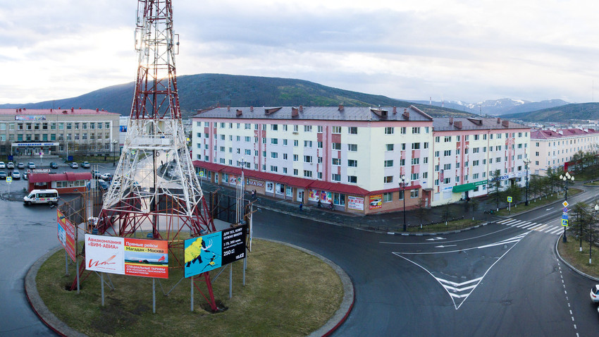 The city of Magadan where the Territoria Festival took place in Aug. 28 - Sept. 3, 2017