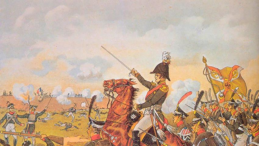 La batalla de Borodinó fue una de las más sangrientas de las guerras napoleónicas.