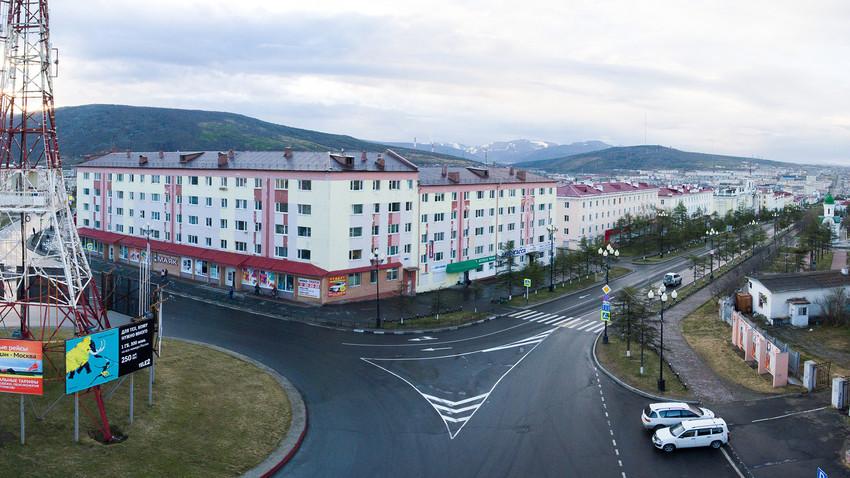 Blick über Magadan
