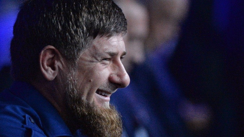 Pemimpin Chechnya Ramzan Kadyrov.