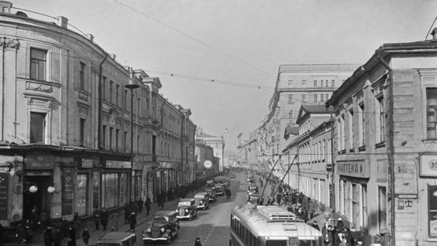 """Тверската улица во советско време се викаше """"Улица """"Горки"""""""
