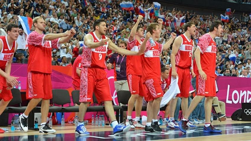Ruska košarkaška reprezentacija na Ljetnim Olimpijskim igrama u Londonu 2012. godine