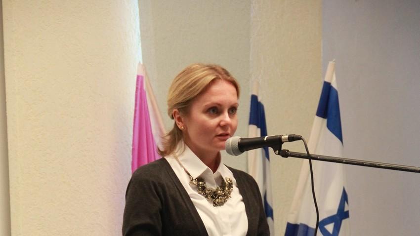 Direktorica Rossotrudničestva u Hrvatskoj, Natalia Jakimčuk.
