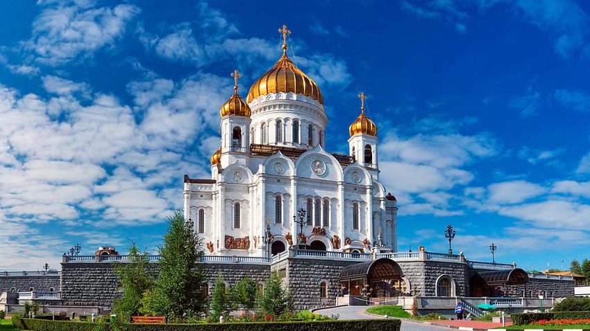 Catedral é considerada um ícone do renascimento cristão ortodoxo na Rússia