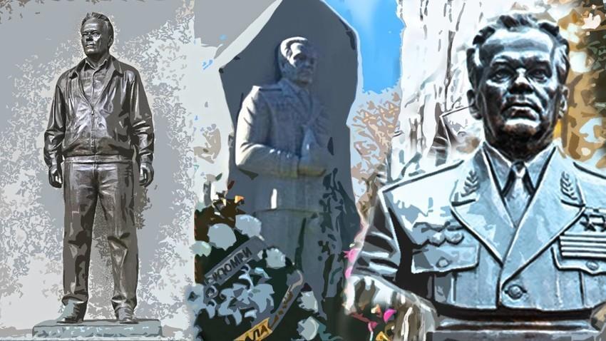 Споменици на Михаил Калашников