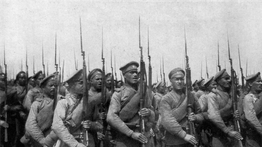 Ruska pehoda v prvi svetovni vojni