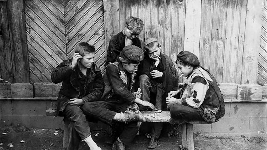 Straßenkinder in den 20ern