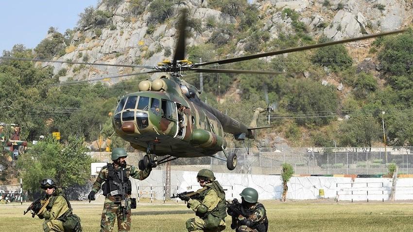 Latihan militer Zapad-2017 berlangsung dari 14 September hingga 20 September 2017.