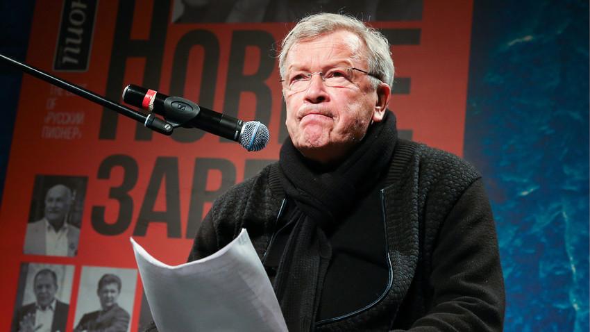 Embora nascido na URSS, Erofeiev foi criado na França