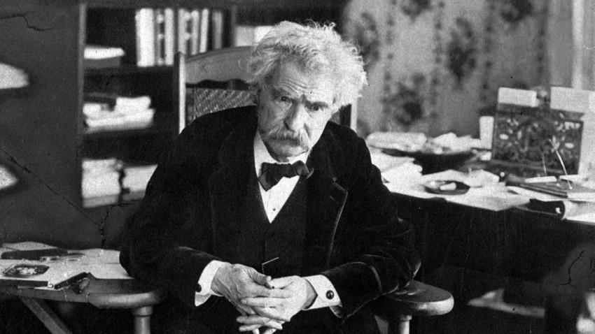 Samuel Clemens, besser bekannt als Mark Twain