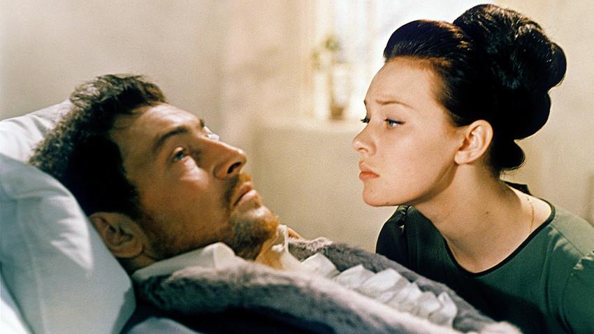 """Сцена из филма """"Рат и мир"""" Сергеја Бондарчука. Мосфилм. 1968."""