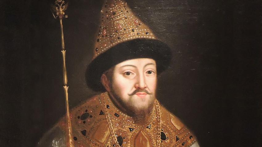 Рускиот цар Михаил I. Дело на непознат уметник