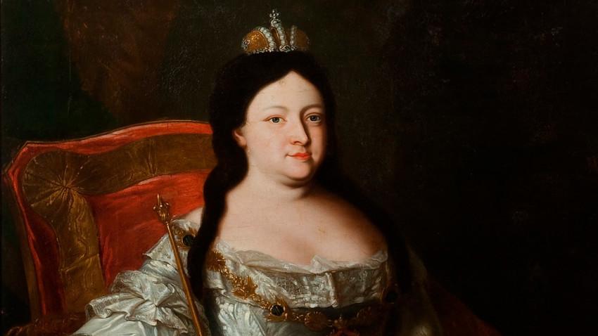 Портрет императорке Ане Ивановне.