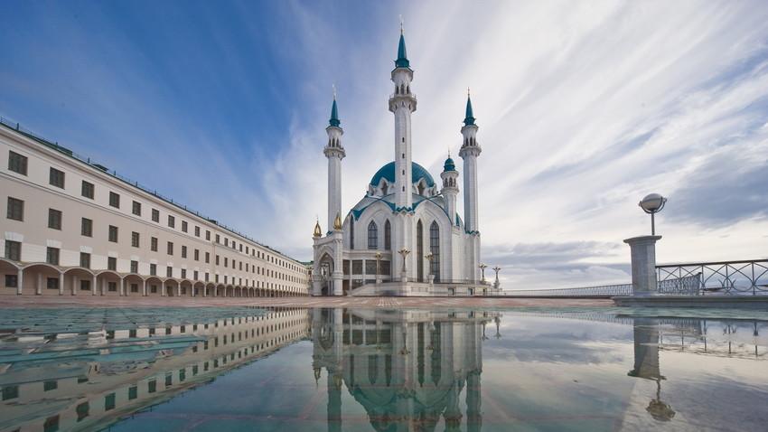 Masjid Kul Sharif di Republik Tatarstan, Rusia.