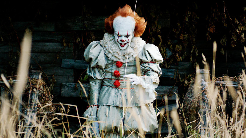 """A screenshot from the movie """"It"""""""