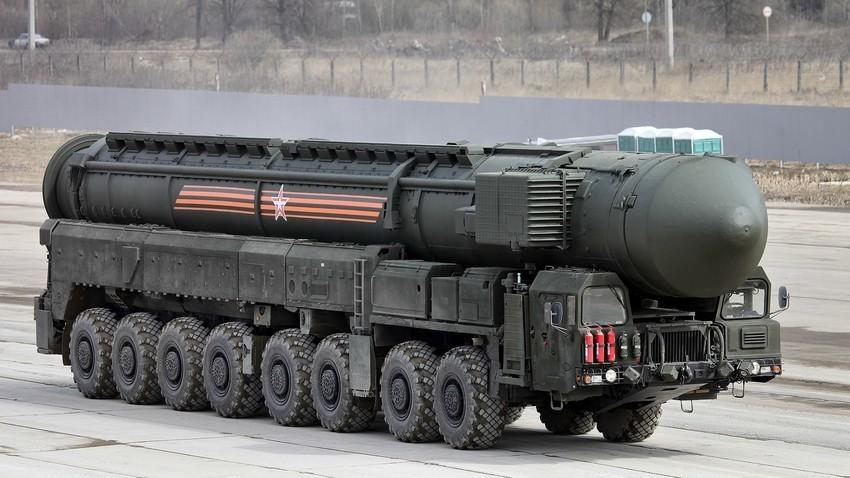 """Интерконтинентална балистичка ракета PC-24 """"Јарс"""""""