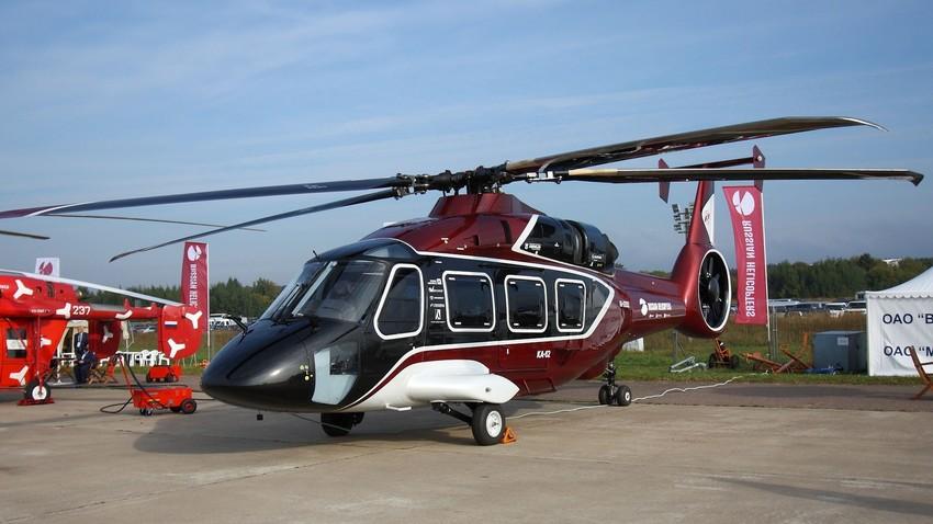 Primeiro voo do novo Ka-62 foi realizado em maio deste ano.
