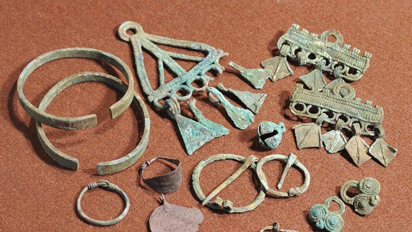 Накит пронајден во некрополата Шекшово