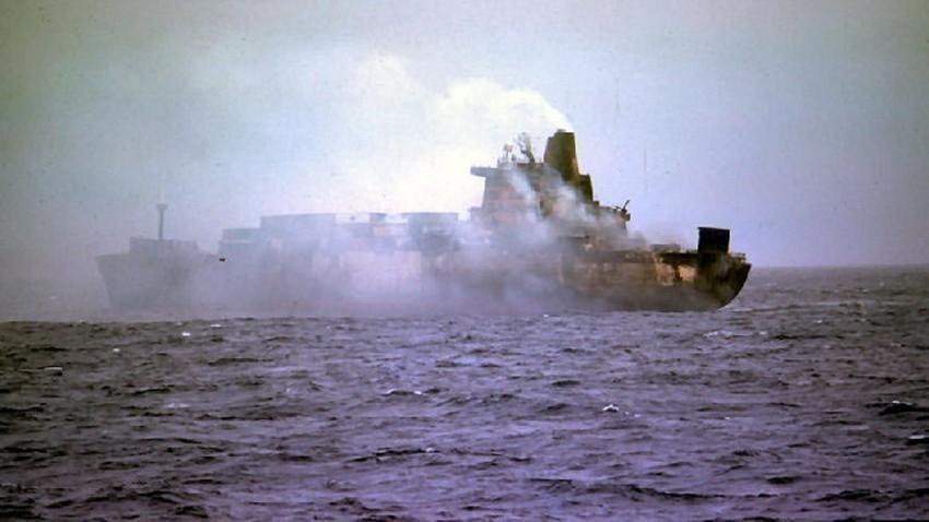 Atlantic Conveyor погоден од ракети