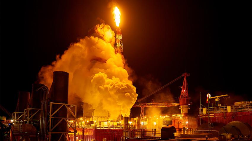 Gazprom tem 17% das reservas de gás globais  e 72% das reservas russas.