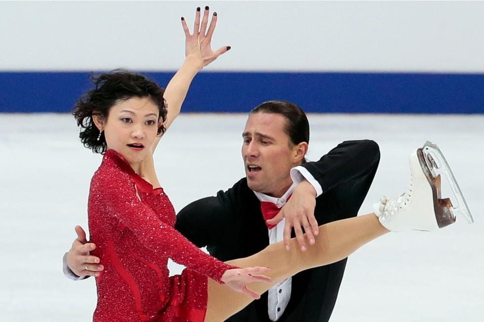 Yuko Kavaguti in Aleksander Smirnov