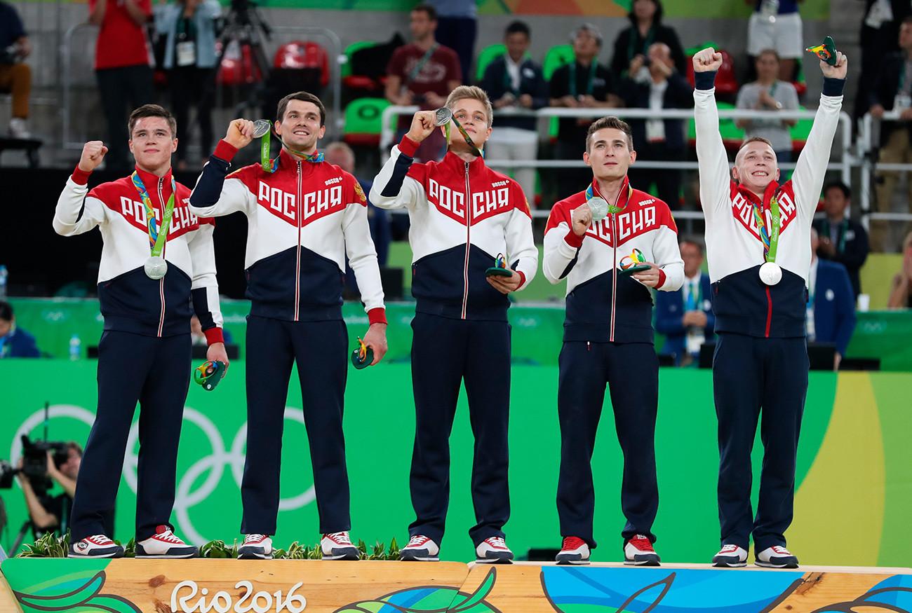 Руски спортисти на Олимпиадата в Рио през 2016 г.