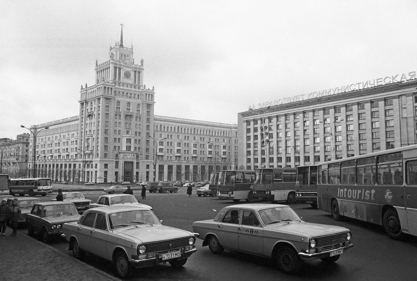 Hotel Pekín en Moscú.