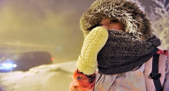 Najnižja izmerjena temperatura v Verhojansku je – 69,8 stopinj Celzija.