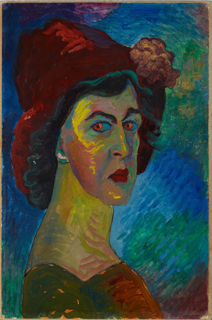 Marianne von Werefkin: Selbstporträt, 1910