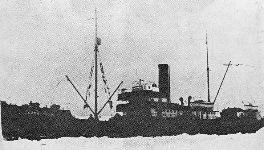Ledolomilec Aleksander Sibirjakov, poimenovan po ruskem industrialcu.