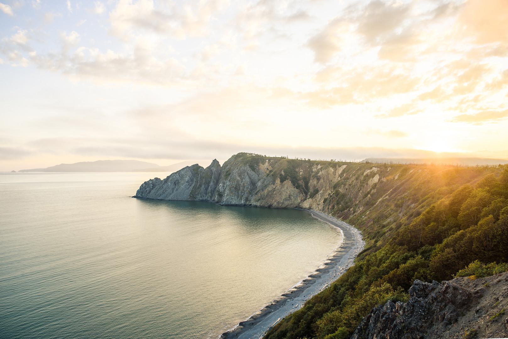 La natura nei pressi di Magadan