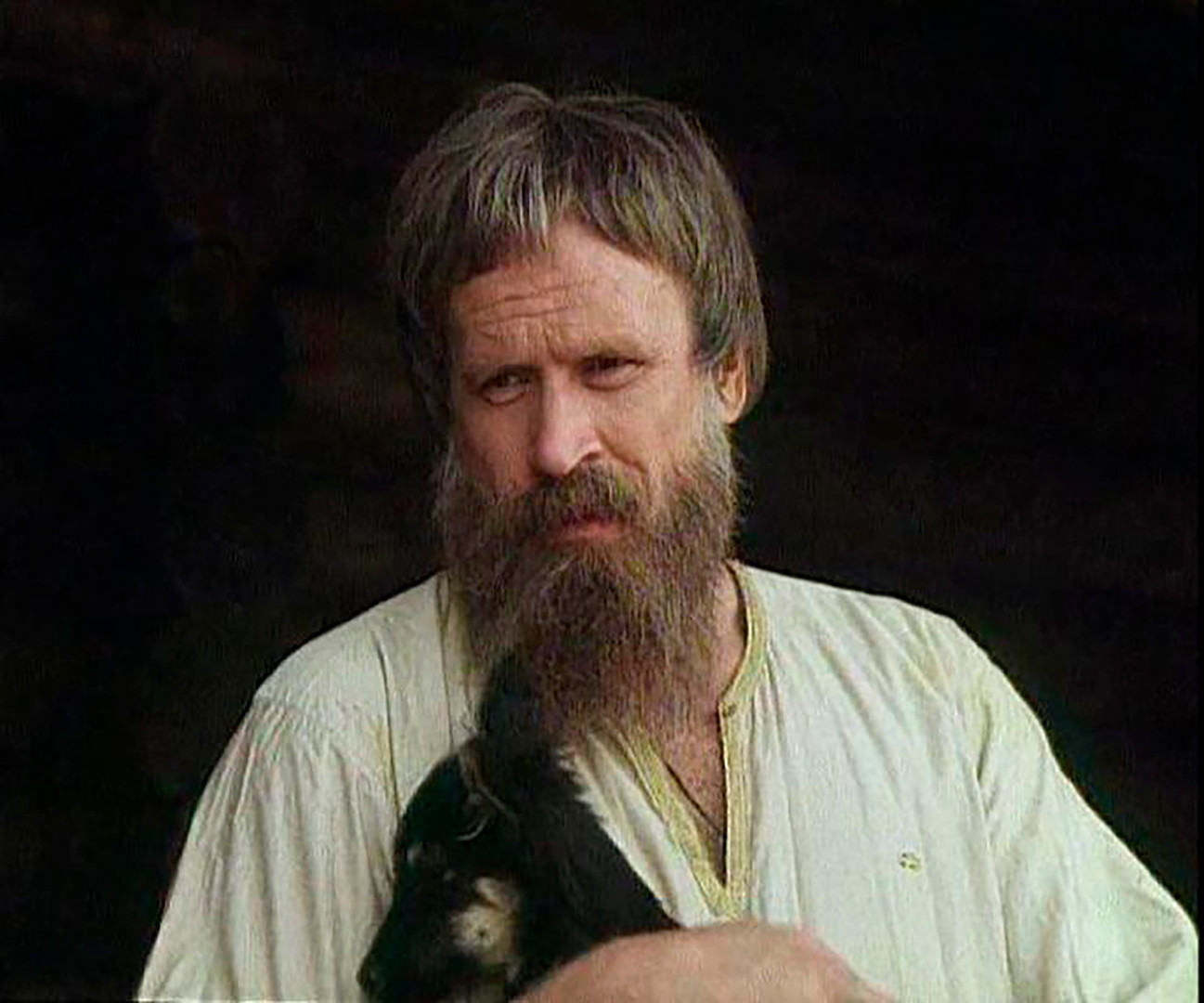 Boyar Kuchka. A frame from the Yuri Dolgoruky movie (1998).
