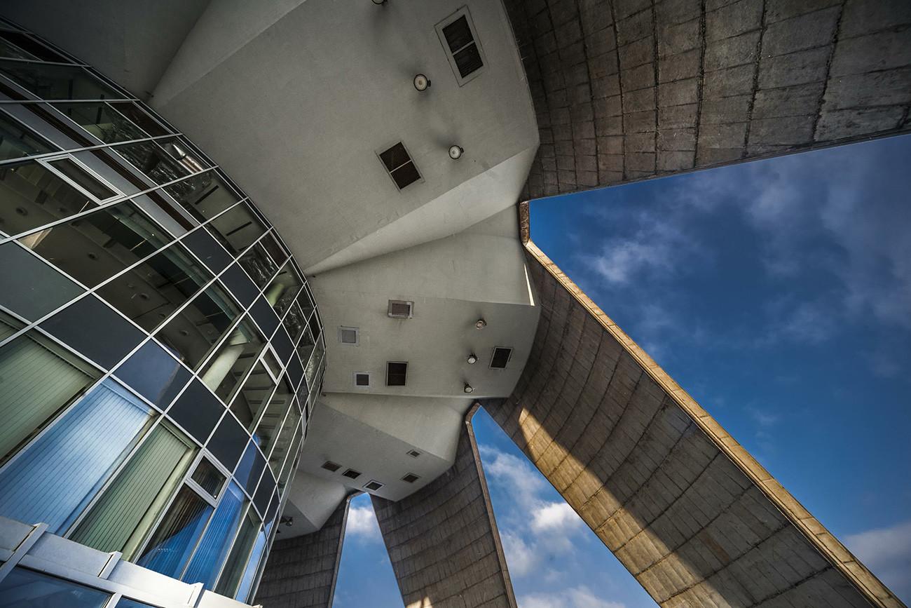 Останкинската телевизионна кула.