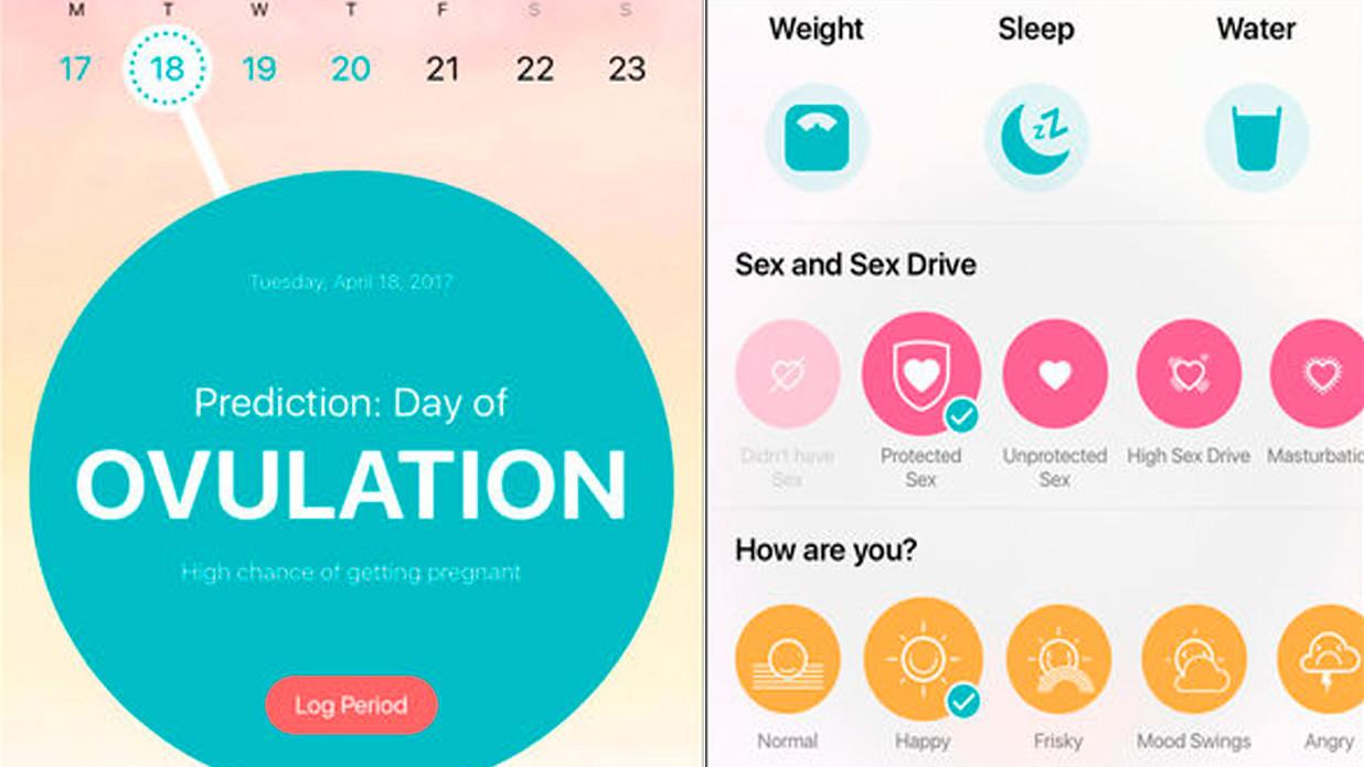 Aplicativo calcula ciclos menstruais e, de acordo com Gúrski, tem precisão quase 50% maior.