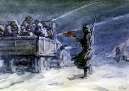 Svetlana S. Bojm: Pot življenja, Ladoga.