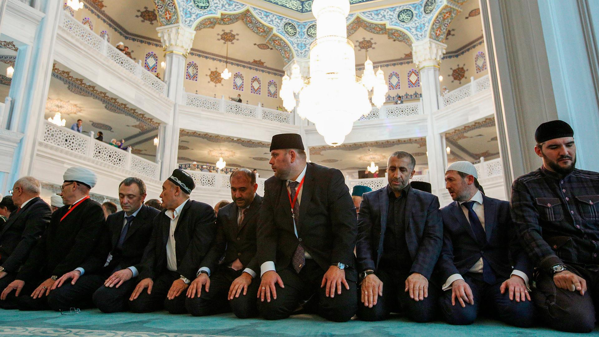 Islamic prayer the Namaz
