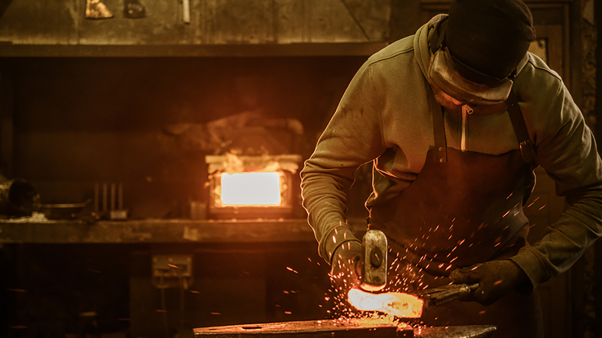 The Russian blacksmith's workshop