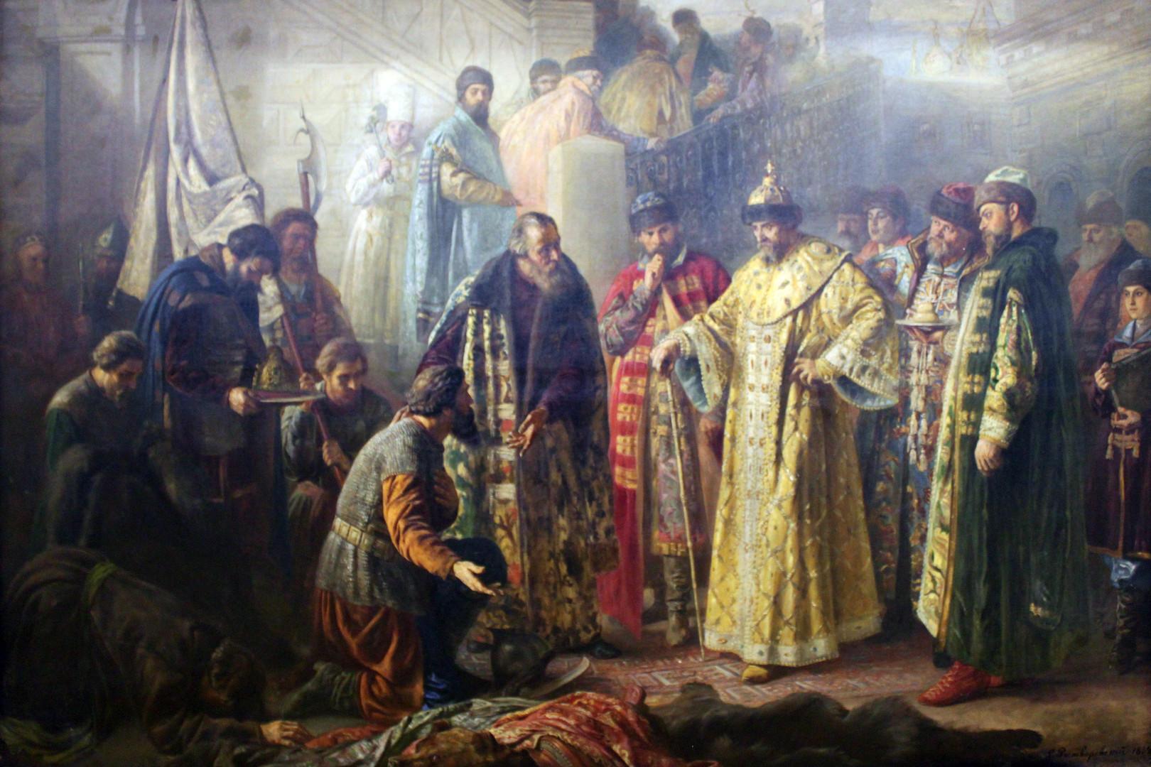 Иван Грозни. / С. Ростворовски (1858-1888)